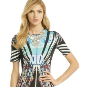 Clover Canyon abstract st basil's cathedral blouse